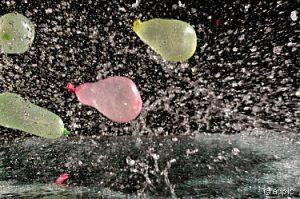 Wasserbomben......
